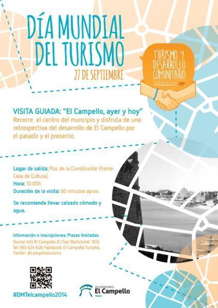 """El Campello, Día Mundial del Turismo #DMT2014, """"Sé Turista en tu ciudad"""""""