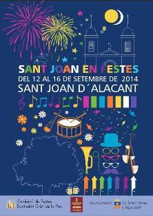 Fiestas del Cristo de la Paz en Sant Joan d'Alacant 2014
