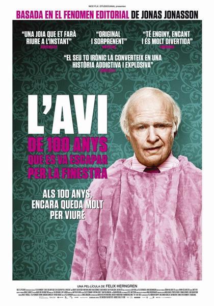Cine: L' Avi de 100 anys que es va escapar per la finestra (V. Valenciano)