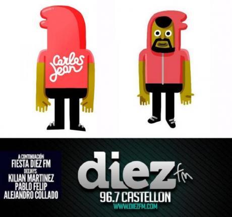 Carlos Jean y Fiesta Diez FM