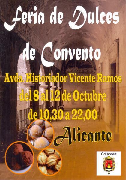 Feria de Dulces de Convento Alicante 2014