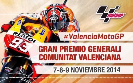 Moto GP - Gran Premio Generali de la Comunitat Valenciana