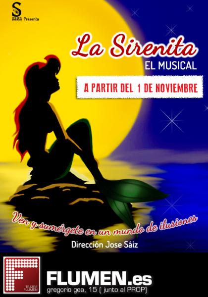 La Sirenita en el Teatro Flumen