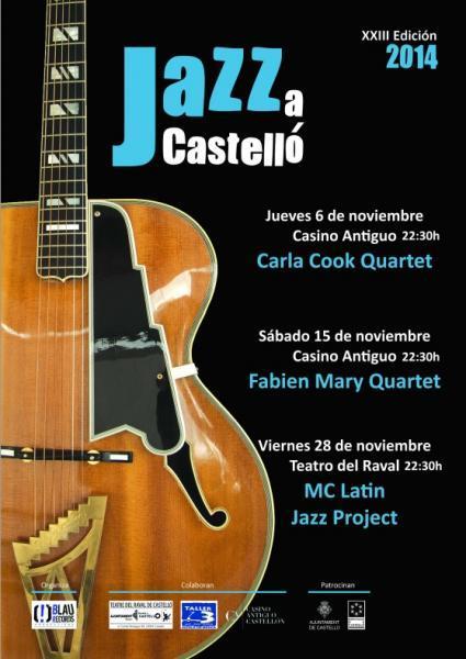 """23 """"Jazz a Castelló"""" 2014"""