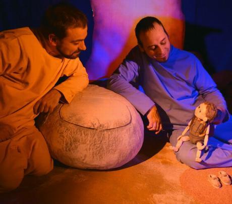 """Teatro para bebés: """"Afuera es un lugar"""""""