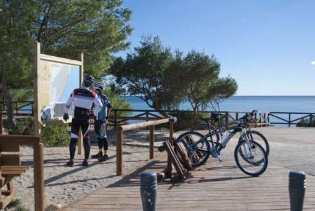 Bike, cellar or climbing up the Bartolo