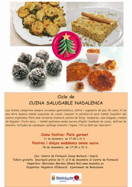 Ciclo Cocina Saludable Navideña