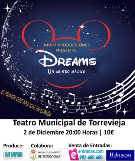 Dreams, un Mundo Mágico en Torrevieja