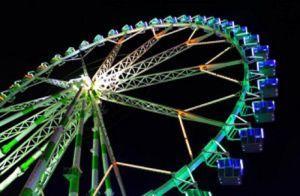 Feria de atracciones de Navidad en Valencia