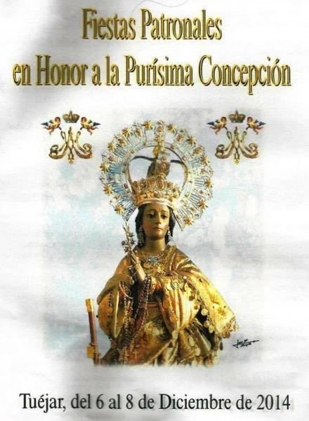 Fiestas Patronales en Honor a la PURISIMA CONCEPCIÓN - TUÉJAR 2014