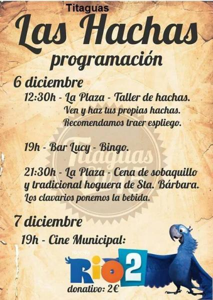 Las  Hachas- TITAGUAS 2014