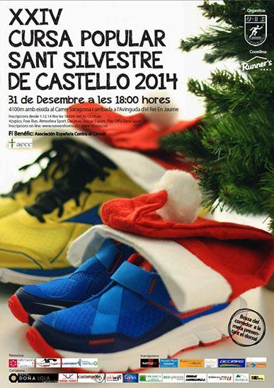 XXIV Carrera Popular de San Silvestre 2014