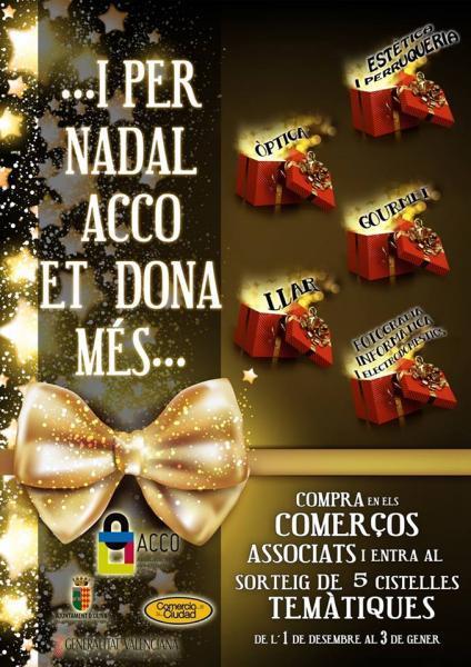 Campaña navideña de ACCO Oliva