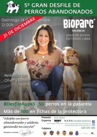 5ª Gran desfile de perros abandonados en Bioparc