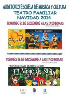 Teatro Familiar de Navidad en Los Montesinos 2014