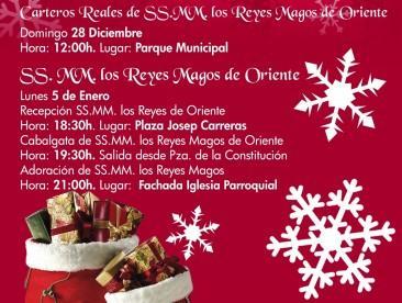 Cabalgata de Reyes en Sant Joan d'Alacant 2014