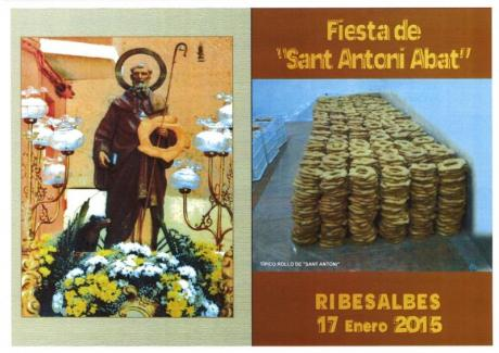 Festividad de San Antonio Abad en Ribesalbes