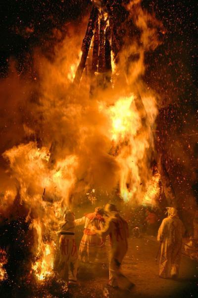 Festividad de San Antonio Abad en Argelita