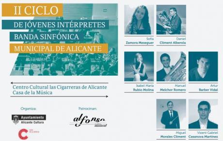 II Ciclo de Jóvenes Intérpretes Banda Sinfónica Municipal de Alicante 2015