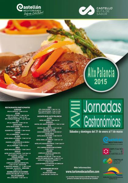 XVIII Jornadas Gastronómicas del Alto Palancia