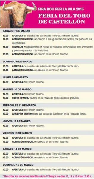 Fira del Bou per la Vila en Castellón