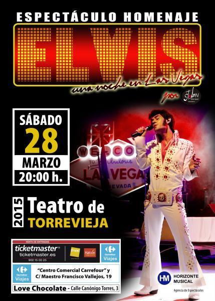 Espectáculo  Homenaje a  Elvis Presley