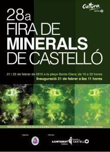 Feria de Minerales en Castellón de la Plana
