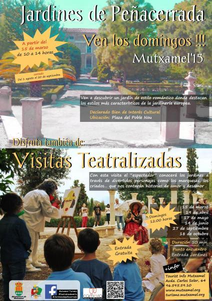 Opening The Gardens Of Peñacerrada and Dramatised Visits