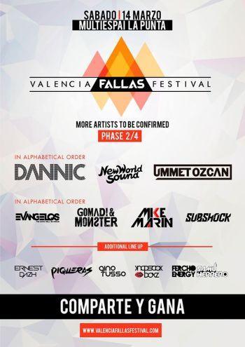 Valencia Fallas Festival 2015