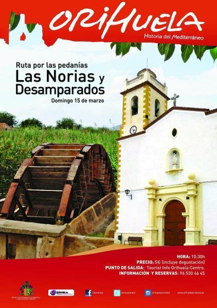 Ruta Pedanías destino Las Norias/ Desamparados