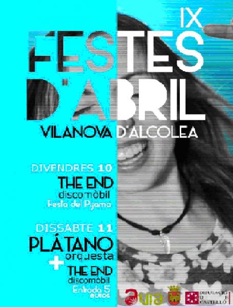 Fiestas de Abril de Vilanova d'Alcolea