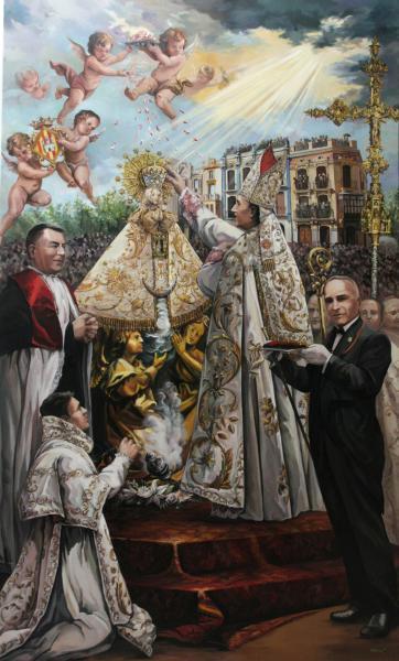 "Certamen literario ""Flor natural santa María de Lledó"" en Castellón"