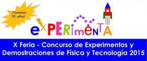 X Feria Concurso Experimenta 2015