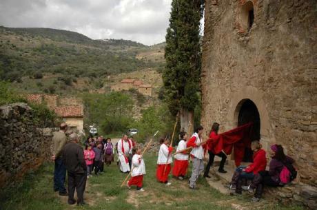 Romería a San Marcos en Portell de Morella