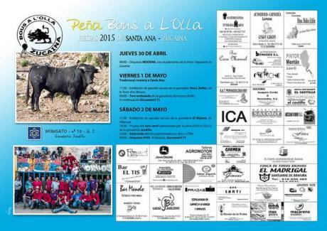 Fiestas de Santa Ana en Zucaina