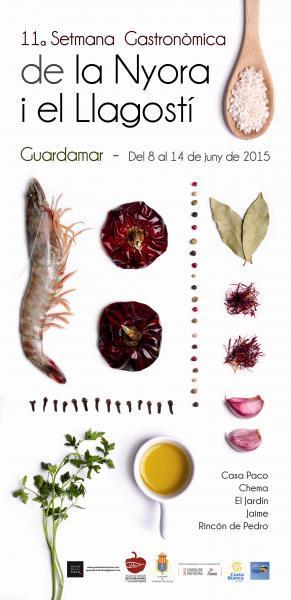 11a Setmana Gastronòmica de la Nyora i el Llagostí de Guardamar