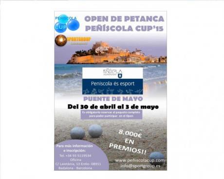 Open Petanca Peñiscola Cup'15