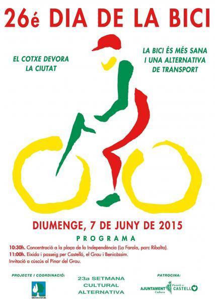 Día de la bici en Castellón