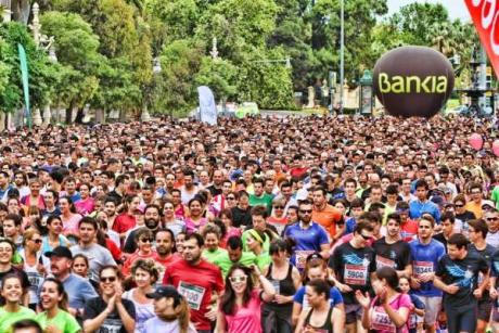 "The ""Volta a Peu"" de Valencia is here, let's all get running"
