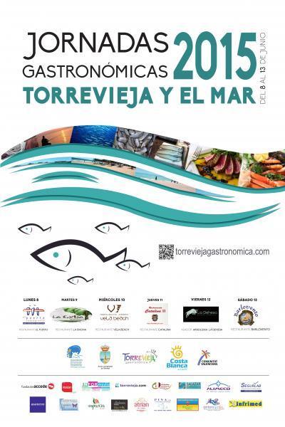 """Jornadas Gastronómicas """"Torrevieja y el Mar"""" 2015"""