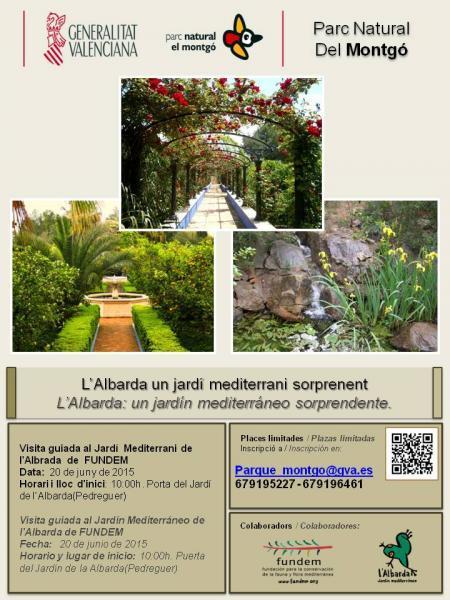 L´Albarda: un jardín mediterráneo sorprendente