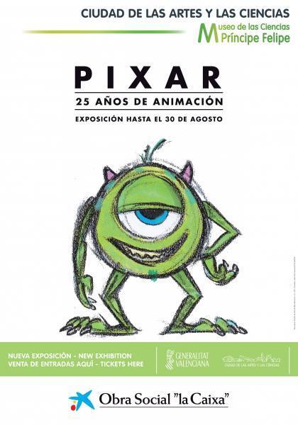 Pixar, 25 años de animación.