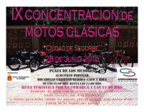 IX Concentración de Motos Clásicas en Segorbe