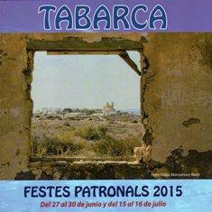 Programa Fiestas Patronales Isla de Tabarca 2015 Festividad de San Pedro y San Pablo