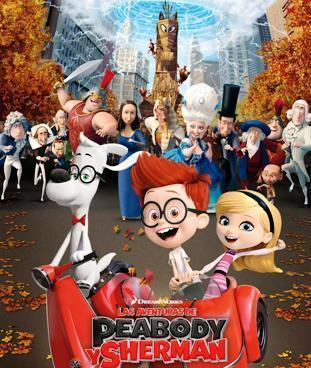 Cinema: Las Aventuras de Peabody y Sherman