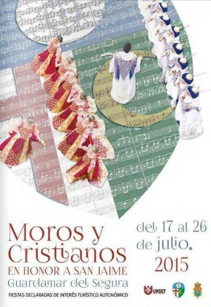Fiestas de Moros y Cristianos en Honor a Sant Jaume 2015 Guardamar del Segura