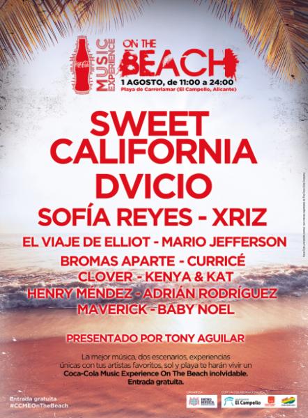 Coca-Cola Music Experience On The Beach en El Campello
