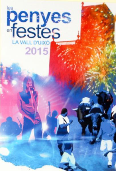 Les Penyes en Festes 2015