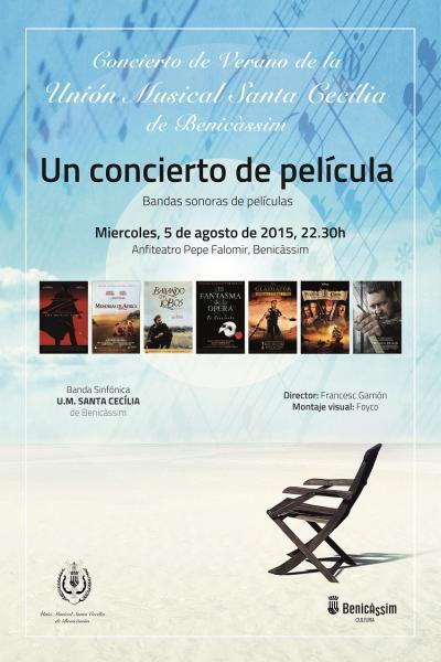Un concierto de película - Unión Musical Santa Cecilia