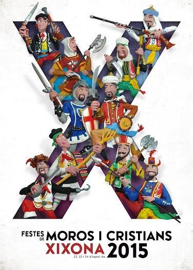 Fiestas de Moros y Cristianos. Jijona 2015